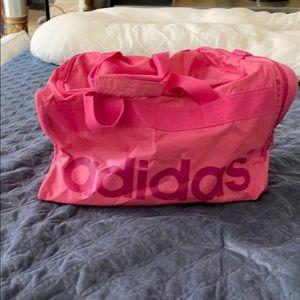 Pink Adidas Duffle Bg